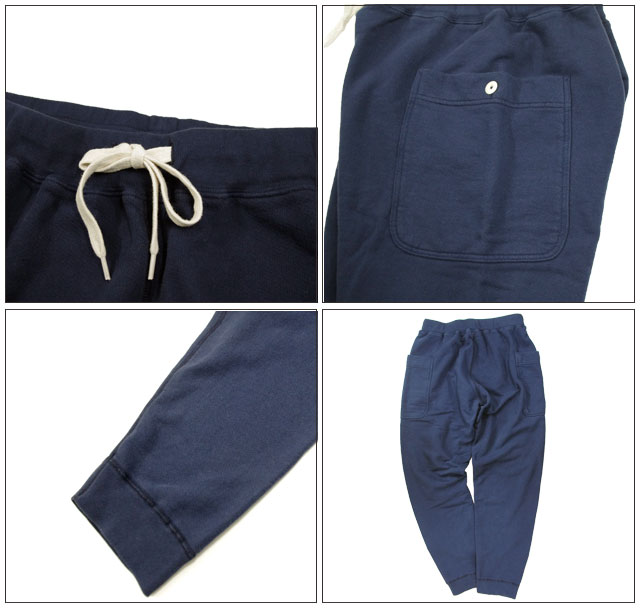 ONLINE限定Velva Sheen 8oz. VIPER SWEAT PANTS(161561)berubashin 8盎司运动衫裤子日本正规代理店