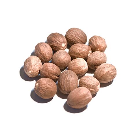 甘い香りと上品なほろ苦さ Nutmeg Whole ナツメグ ホールスパイス メーカー在庫限り品 内祝い 50g スパイス 香辛料 ※ネコポス非対応 原型 3 980円以上で送料無料 種