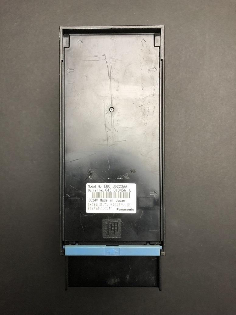 中古良品 識別器 パナソニック EUC B6243BA 紙幣 4金種 高額両替機  保守用として 在庫100個以上あり