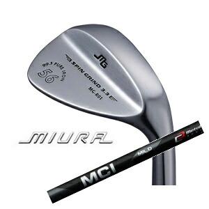 三浦技研MG-R01 (純鉄)MCI SOLID/MILD MC125WEDGE(フジクラ社製)ミウラクラフトマンワールド登録店(Aサポート登録店)MIURA