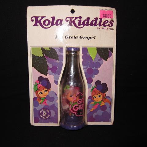 ブリスター!1967年★ビンテージ★Liddle Kiddle★リッドルキッドル★Kola Kiddle★コーラキッドル★キドル★人形★フィギュア★Grape★グレープ