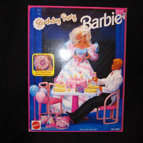 デッドストック!1992年★90's★Barbie★バービー★Birthday Party Barbie★バースデーパーティー★プレイセット★フィギュア★人形