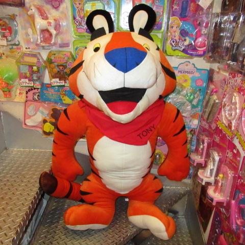 BIG SIZE★Tony the Tiger★トニー・ザ・タイガー★ケロッグ★Kellogg's★シリアル★ぬいぐるみ★人形★シ企業物★アドバタイジング★95センチ