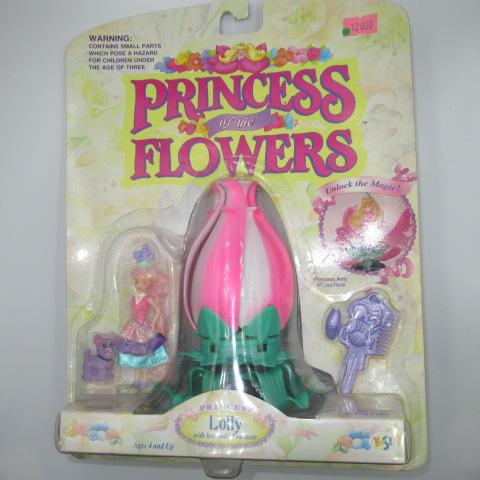 レア!90's★1993年★Princes of the Flowers★プリンセスオブフラワー★Lolly★人形★フィギュア★
