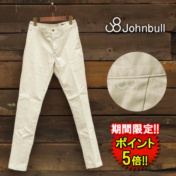 ジョンブル パンツ (21080-2) ストレッチチノパンツ STRETCH CHINO メンズ □