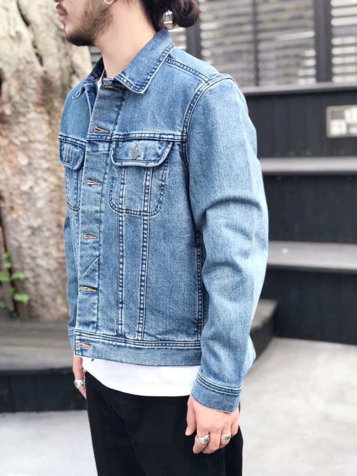 A.P.C. ジャケット (2582130161) DENIM ST DL VESTE US メンズ □