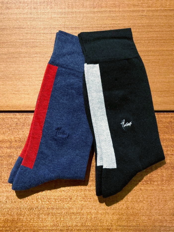 本店 店内全品ポイント5倍 THE SOX Luxury Socks ザソックス 靴下 有名な 161-1059 BACK メンズ LINE
