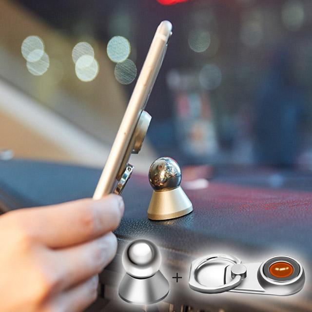 送料無料 強力磁石ガッチリ固定 スマートフォン 車載ホルダー 車載スタンド 車載フォルダー iphone xperia タブレット ipad エクスペリア バンカーリング アイタップ itap 磁石 iPhone8 iPhone7 売れ筋ランキング スマホリング 手数料無料