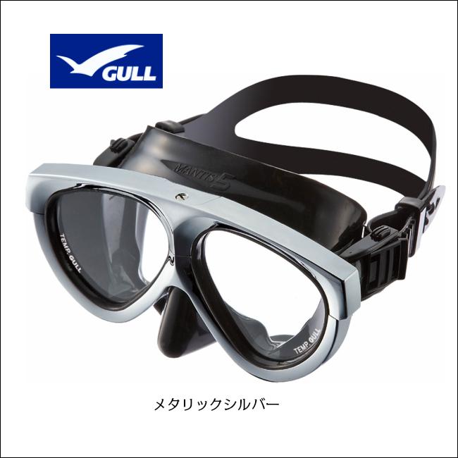 【 GULL 】ガル マンティス 5 ブラックシリコン メタリックフレーム ( GM-1037 )