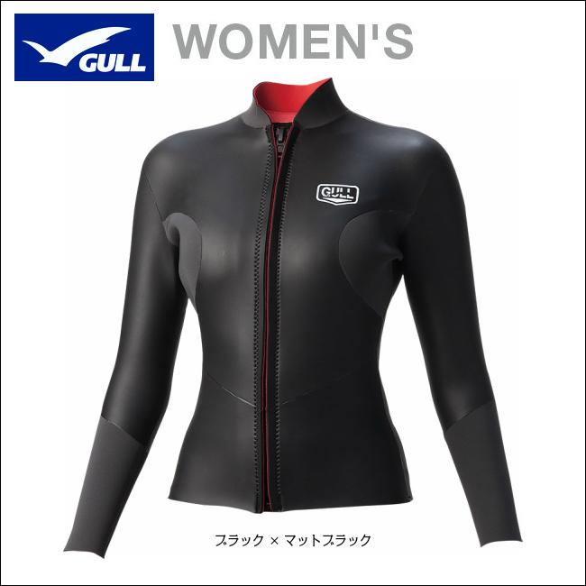 2018NEWモデル!!【 GULL 】クラシック SKIN タッパー 2 ウィメンズ 3mmネオプレーン GW-6589( ウェットスーツ / ジャケット / レディース / 女性用 )