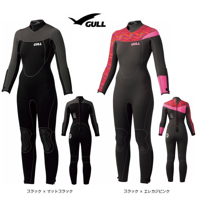 GULL ガル 5mm ウエットスーツ ウィメンズ GW-6618 ( ウェットスーツ / レディース / 女性用 / フルスーツ 既成サイズ )2019年NEWモデル!!