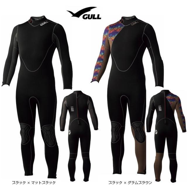 GULL ガル  5mm ウエットスーツ メンズ GW-6617 ( ウェットスーツ / 男性用 / フルスーツ / 既成サイズ )2019年NEWモデル!!