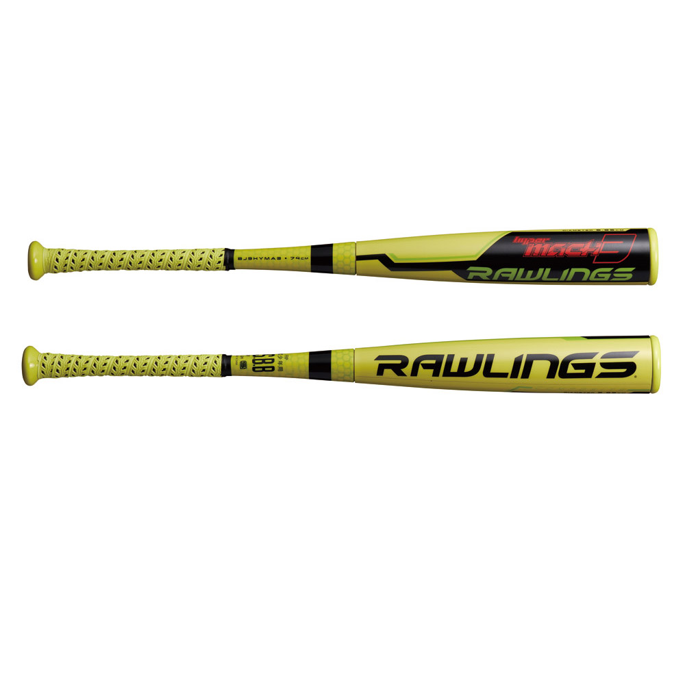 Rawlings(ローリングス) BJ9HYMA3 ジュニア ハイパーマッハ3 野球 軟式バット ミドルバランス HYPERMACH J号対応