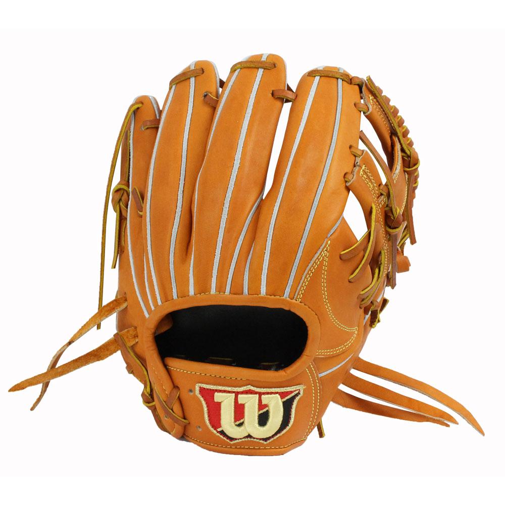 WILSON(ウィルソン) WTARBSD6H DUAL Basic LabW 軟式グラブ 内野 野球 グローブ