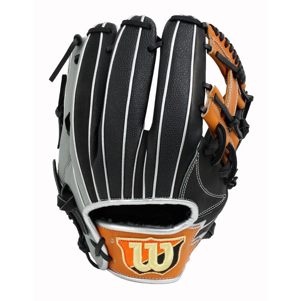 WILSON(ウィルソン) WTARHSD5H THE WANNABE HERO 軟式グラブ スーパースキン仕様 内野 野球 グローブ
