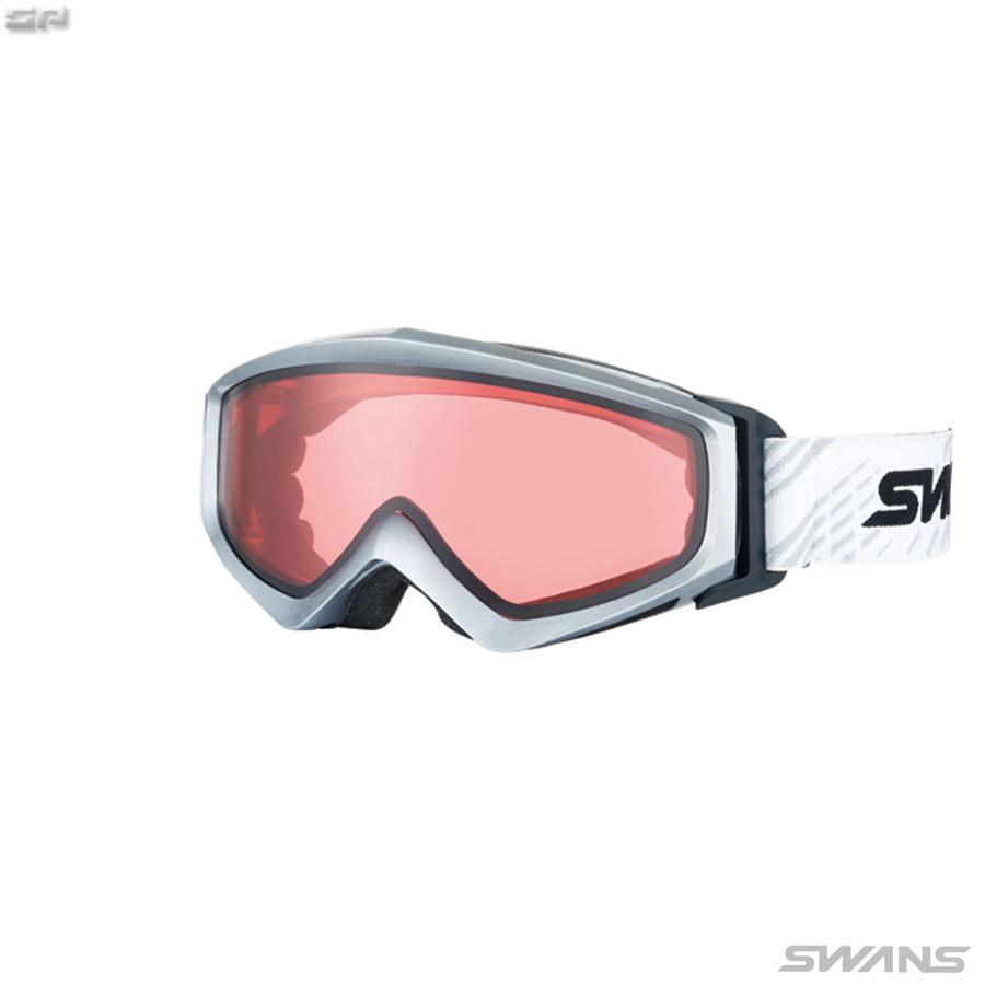 【送料無料】SWANS(スワンズ) GUEST-LCD 大人向け ヘルメット対応 LCDピンクレンズ スノーゴーグル スキー【SALE】