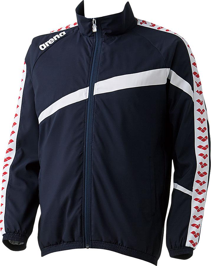 【メール便OK】ARENA(アリーナ) ARN-6300 ウィンドジャケット スイマーズジャケット デルタウーブン チームウェア フィットシルエット