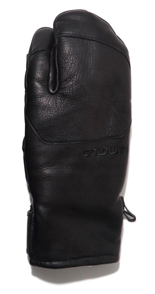 GOLDWIN(ゴールドウィン) G81700P レザー マウンテン グローブ スキー スノーグローブ ミトン 牛革 手袋