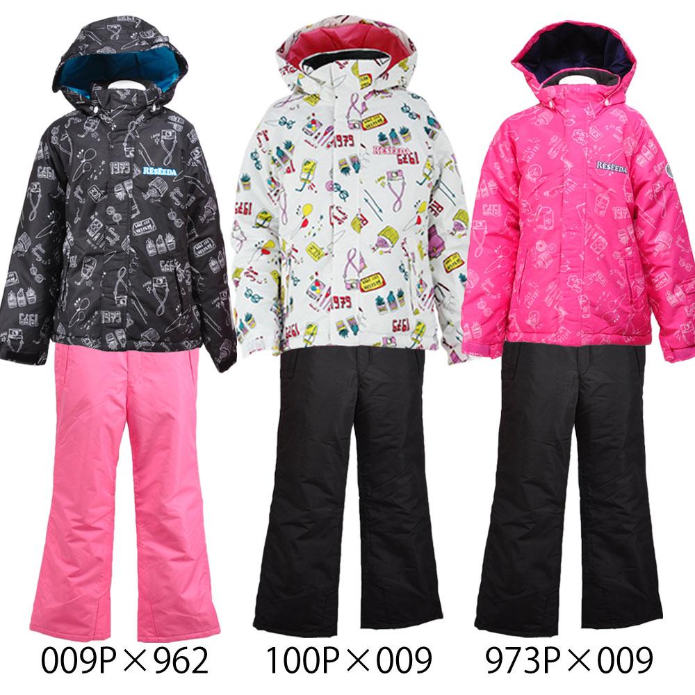 ONYONE RESEEDA(オンヨネ レセーダ) RES61005B ジュニア スキースーツ スキーウェア 上下セット 子供用