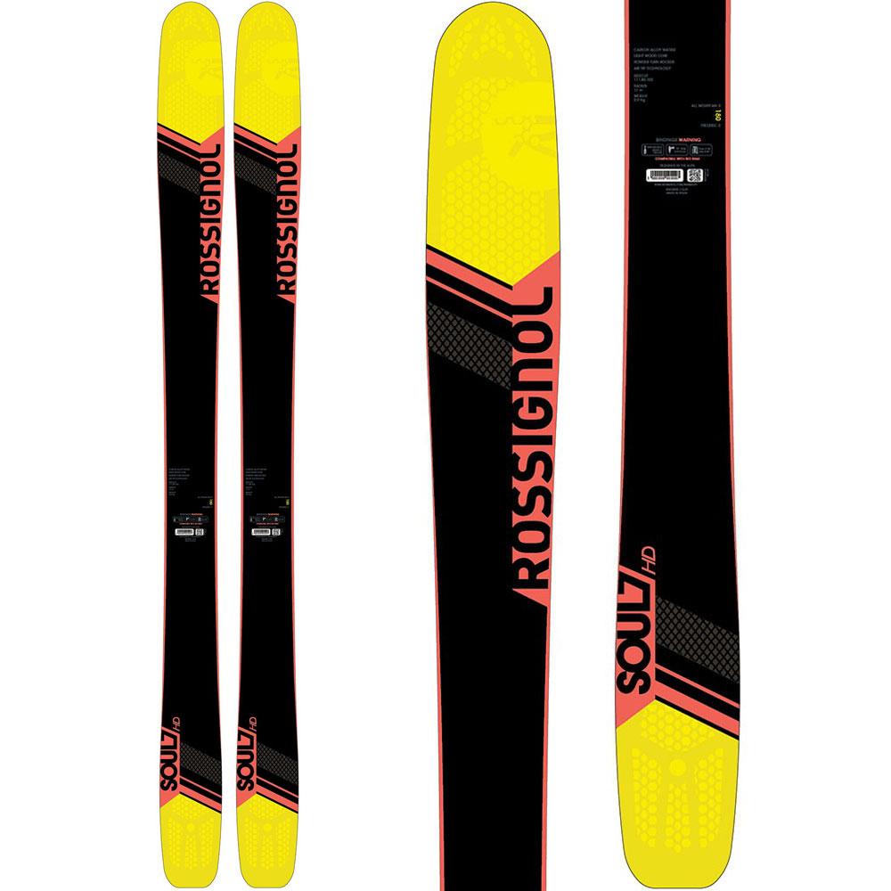 【10月10日限定!Wエントリーでポイント15倍】ROSSIGNOL(ロシニョール) RAFQ101/FCFA037 17 SOUL7 HD + SPX12D スキー板 金具付き【SALE】