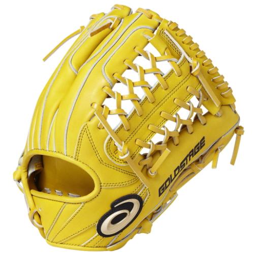 アシックス(asics)ゴールドステージ スピードアクセル(SPEED AXEL) TypeB内野手用 右投ブラウンゴールド サイズ8BGR8GL 15 野球グラブ
