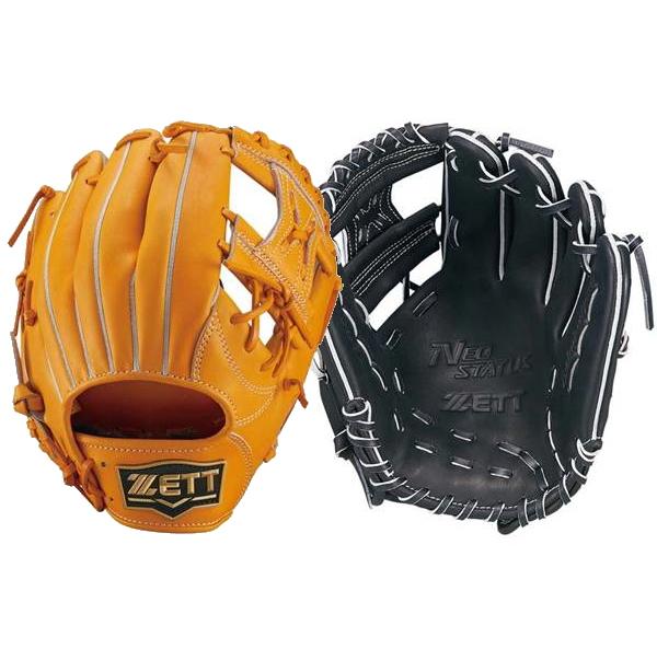 ゼット(ZETT)軟式用グラブ ネオステイタス 遊撃手・二塁手モデル 右投サイズ4BRGB31520