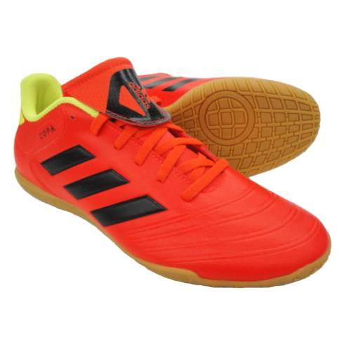 アディダス(adidas) コパ 18.4 IN DB2447ソーラーレッド×コアブラック×ソーラーイエローインドアシューズ トレーニングシューズ 屋内用