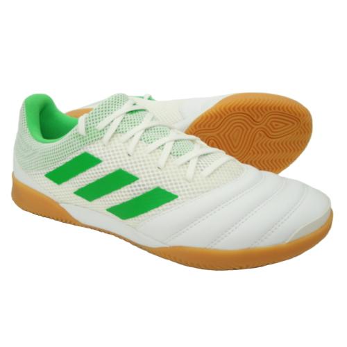 アディダス(adidas) コパ 19.3 IN サラBC0559ランニングホワイト/ソーラーライムS16/ガムM1インドアシューズ トレーニングシューズ 屋内用