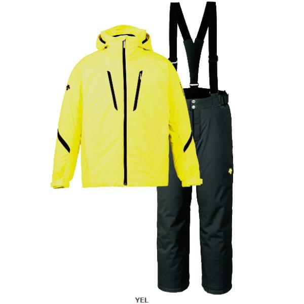 デサント(DESCENTE) スキースーツジャケット・パンツ 上下セット カラー イエローDRA7090F YELスキーウエア メンズ・ユニセックス