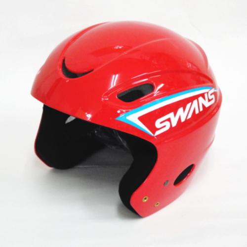 スワンズ(SWANS)スキーヘルメットH-50 レッドレーシングヘルメット