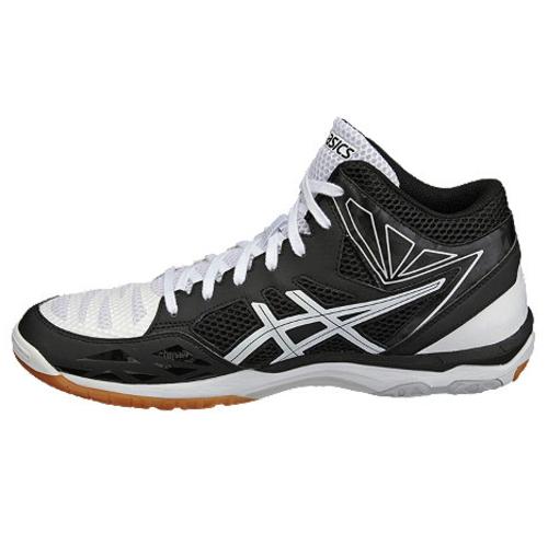 (ASICS) Asics Gel V swift CV MT (GEL-V SWIFT MT CV) White x black TVR484 0190 volleyball shoes