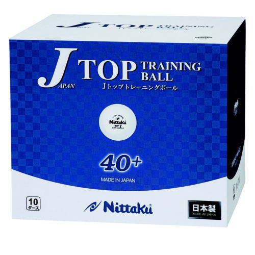 ニッタク Nittaku 卓球 ボール プラスチック ジャパントップトレ球【120球入/箱】 nb-1367 卓球用品