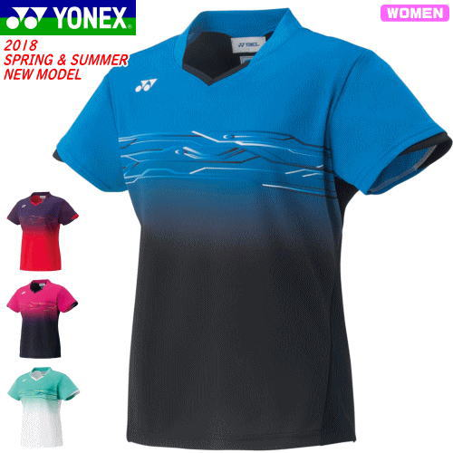 33538a4c4a766 YONEXヨネックスバドミントンウェアユニホームゲームシャツ半袖シャツベリークールドライ搭載[20431]