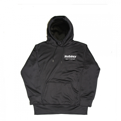 【スポイチ】HOLIDAY HOLIDAY 撥水 HOODIE BLACK