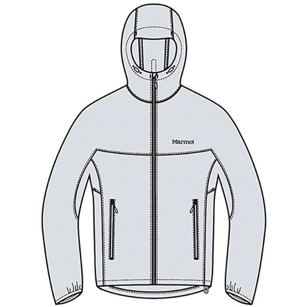 マーモット ☆最安値に挑戦 Marmot ZERO BREEZE ジャケットTOMRJK10-GLC JACKET アウトドア 日本全国 送料無料 メンズ