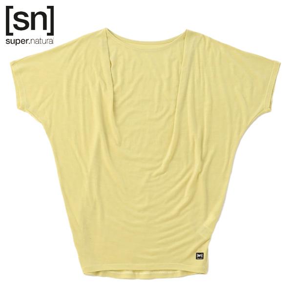 ルーズなシルエットのTシャツ スーパーナチュラル Super Natural W JP アウトレット☆送料無料 LOOSE ヨガ 定番の人気シリーズPOINT ポイント 入荷 YOGA Tシャツ TEE SNW015620-P25