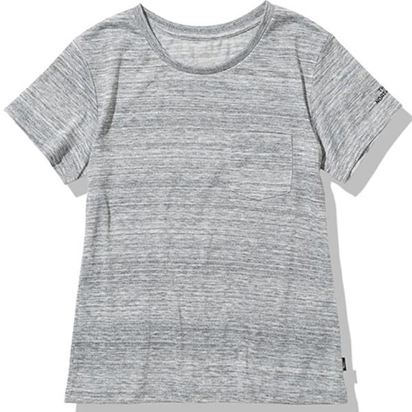 ノースフェイス THE NORTH FACES 正規販売店 S TEEアウトドア Tシャツ オンライン限定商品 ウィメンズNTW32148-Z POCKET