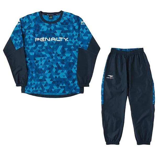 在庫処分 ペナルティー PENALTY ピステスーツ 直営限定アウトレット po9517-80 サッカー メンズウェア 出色 フットサル
