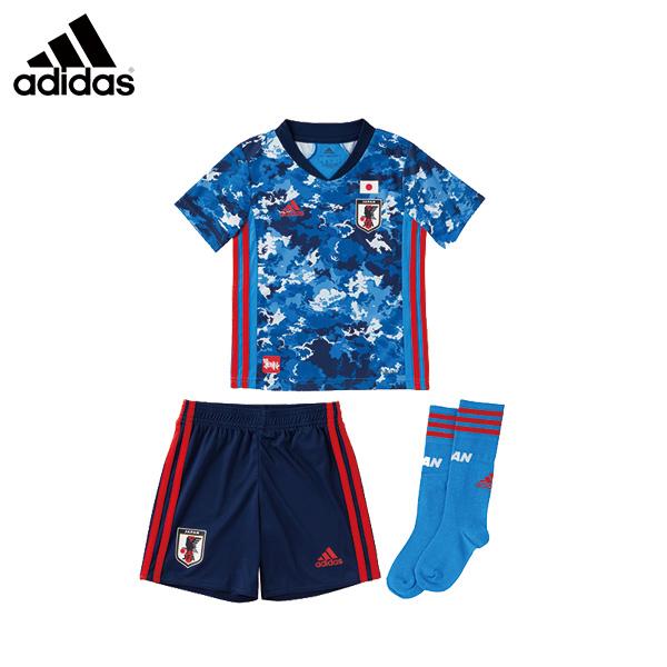 アディダス adidas JFA ホームミニキット サッカー日本代表2020 レプリカホームユニフォーム JAPAN HOME JERSEY
