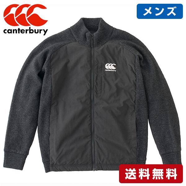 CANTERBURY/カンタベリー セーター ジャケット メンズ SWEATER JACKET Men's RA48585-19 冬 防寒 アウター ダウン カジュアル ラグビー
