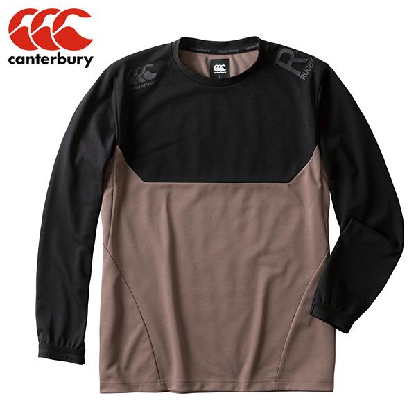 カンタベリー CANTERBURY ロングスリーブ ワークアウトティ (メンズ) RP49520-BK ワークアウト 長袖 カジュアル Tシャツ