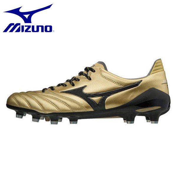 MIZUNO/ミズノ モレリアネオ II メンズ サッカー スパイク P1GA1850-50 ゴールド×ブラック シューズ スニーカー