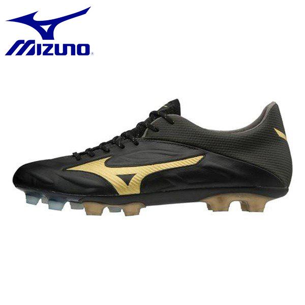 MIZUNO/ミズノ レビュラ 2 V1 メンズ サッカー スパイク P1GA1871-50 ブラック×ゴールド シューズ スニーカー