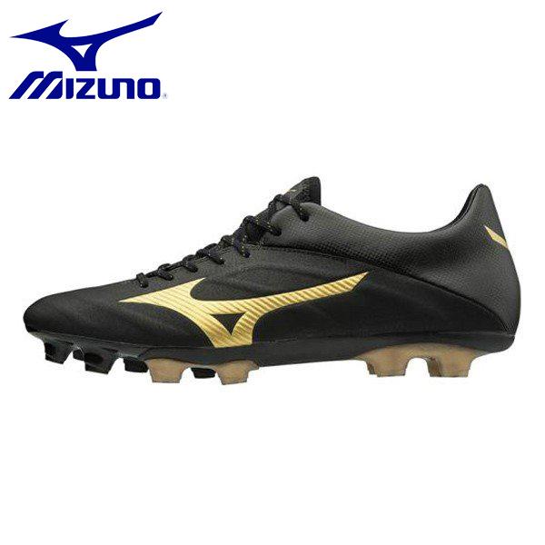 MIZUNO/ミズノ レビュラ2 V2 SL メンズ レディース ユニセックス サッカー スパイク P1GA1874-50 ゴールド×ブラック シューズ スニーカー