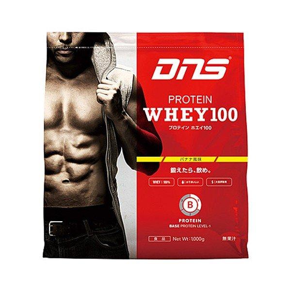 DNS/ディーエヌエス プロテインホエイ100 バナナ風味 3,000g プロテイン スポーツ サプリメント
