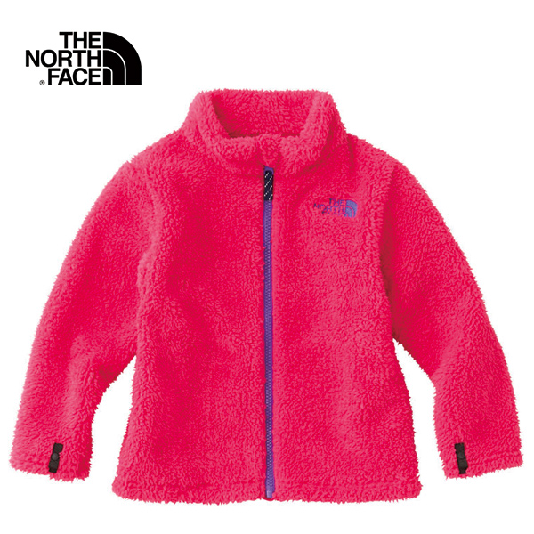 THE NORTH FACE/ザ・ノースフェイス シェルパ フリース ジャケット キッズ Sherpa Fleece Jacket NAJ71605-RE フリース 防寒 ジュニア 子ども