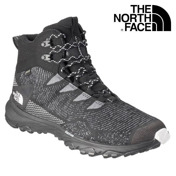 THE NORTH FACE/ ザ・ノースフェイス ウルトラファストパック IIIミッドウーブン メンズ Ultra Fastpack III Mid Woven GORE-TEX NF01824 ブラック×ホワイト