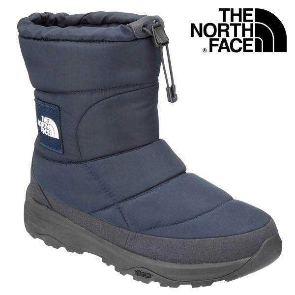 THE NORTH FACE/ ザ ノースフェイス ヌプシ ブーティー ウォータープルーフ VIロゴ ユニセックス NF51876 ネイビー メンズ レディース ブーツ 登山 アウトドア