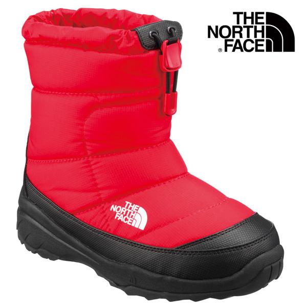 THE NORTH FACE/ザ・ノースフェイス ヌプシ ブーティー ウォーター プルーフ II キッズ K Nuptse Bootie WP NFJ51880-RK ブーツ 撥水加工 ジュニア 子ども服