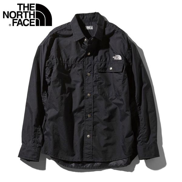 ザ・ノースフェイス THE NORTH FACE ロングスリーブヌプシシャツ ユニセックス NR11961-K カジュアル シャツ 長袖